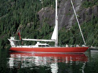 1986 Baltic Custom 76 Cutter