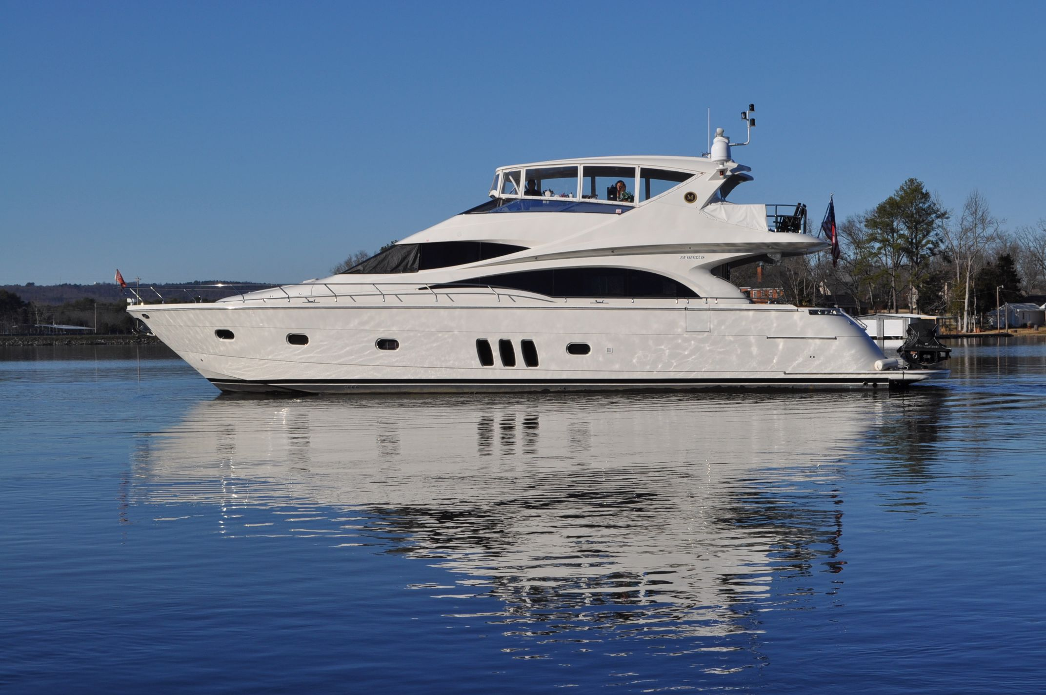 69 ft 2008 marquis sky lounge motor yacht major reduction
