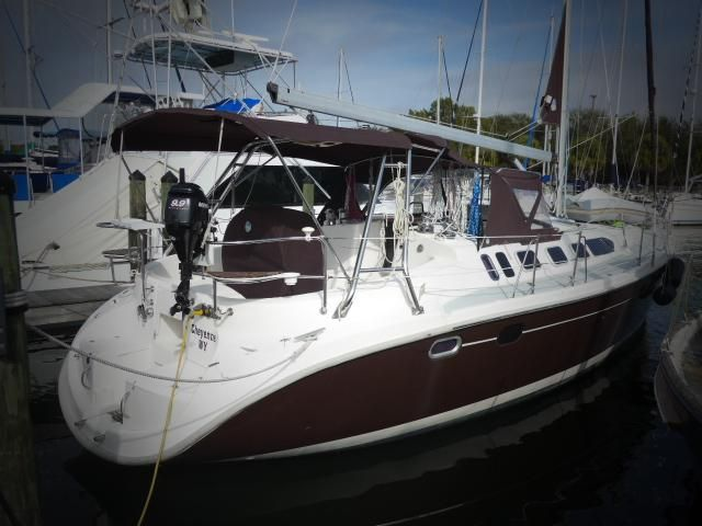 2001 Hunter 460 Sail Boat For Sale Www Yachtworld Com