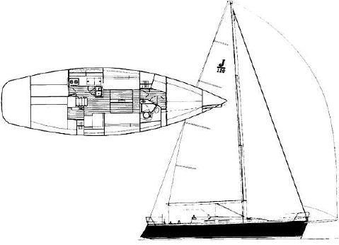2000 J Boats J/120