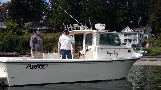 2010 Parker 2820 XLD Sport Cabin