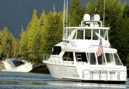 2002 West Bay 58 Pilothouse
