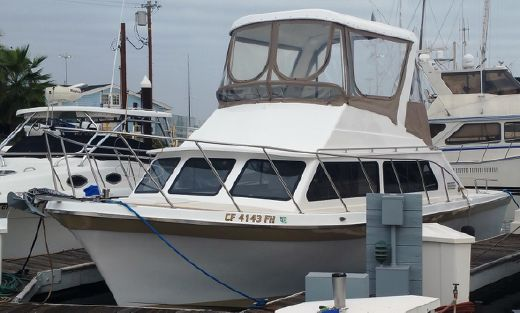 1974 Luhrs 32 Flybridge Cruiser
