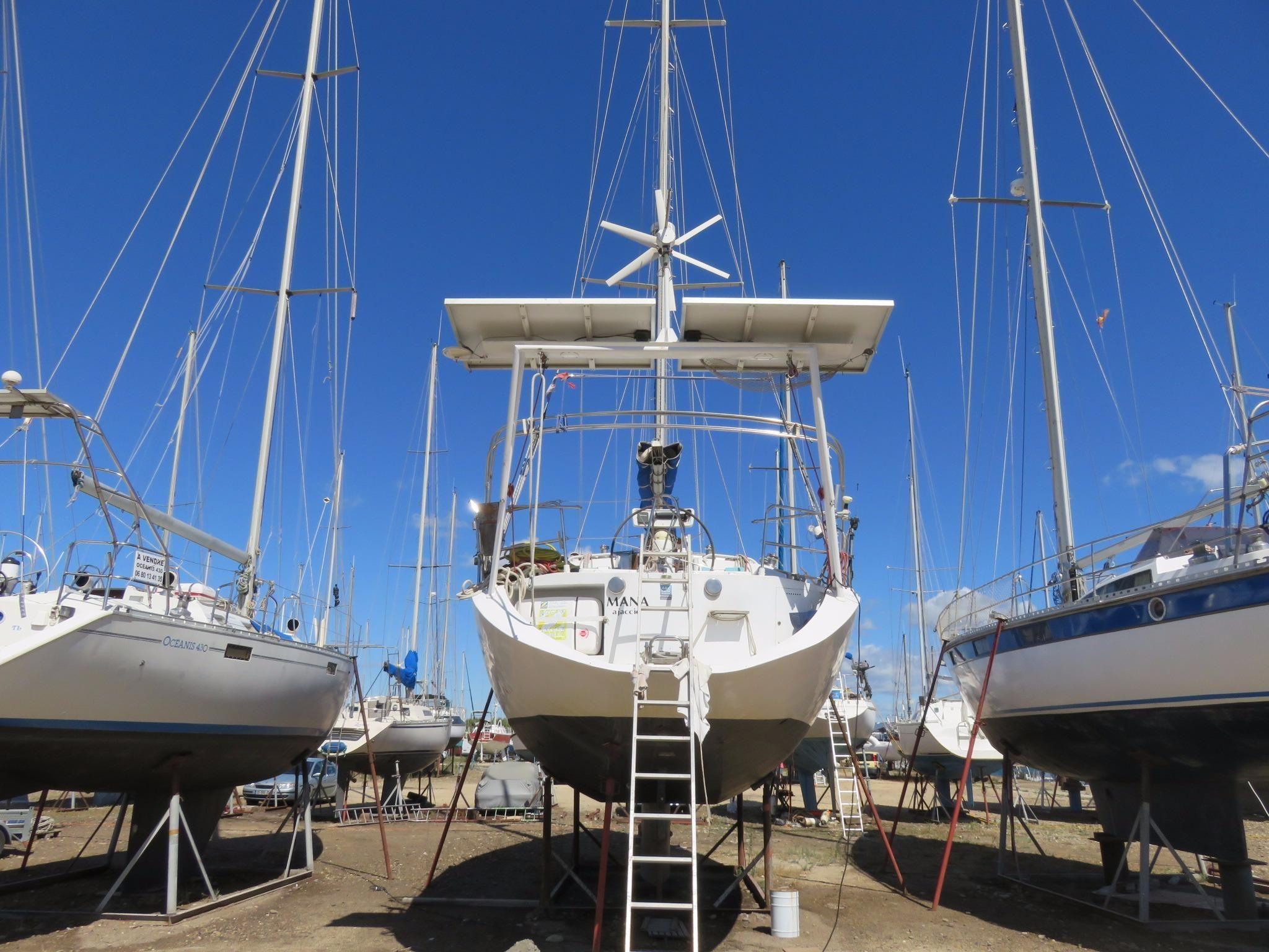 1993 dujardin atlantis 430 sail boat for sale www