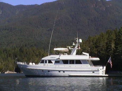 1990 Moonen Flush Deck Motoryacht