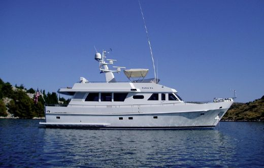1990 Moonen Flush Deck Motoryacht