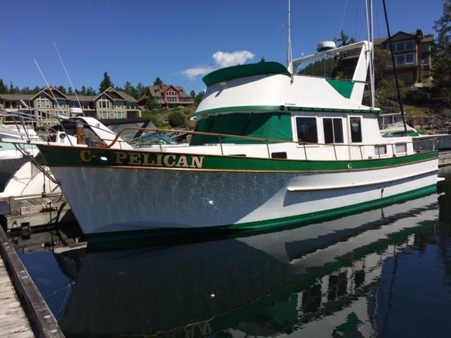 1977 chb puget trawler