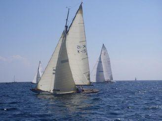 1926 Custom Q Class Alfred Mylne Gaff