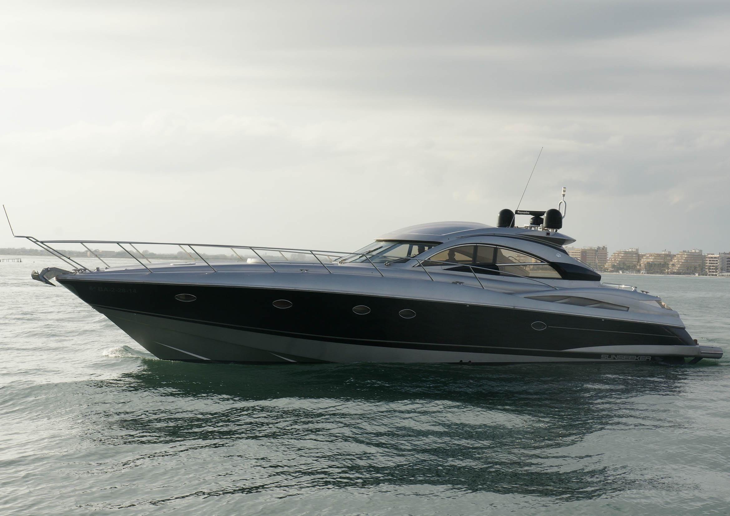 Cucina Bianca E Ciliegio 2003 sunseeker predator 61 motor båtar till salu - se