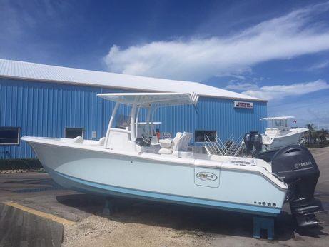 2016 Sea Hunt 25 Gamefish w/ (2) Twin Yamaha F150
