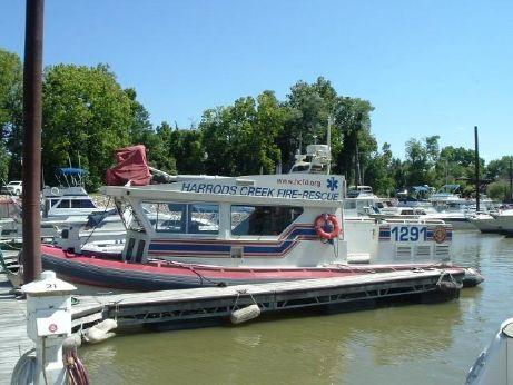 2003 Zodiac Fire Boat H920 Aluminum Cabin Fireboat