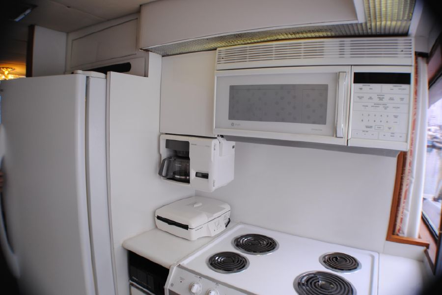 Striker 70 Sportfisher Galley Kitchen