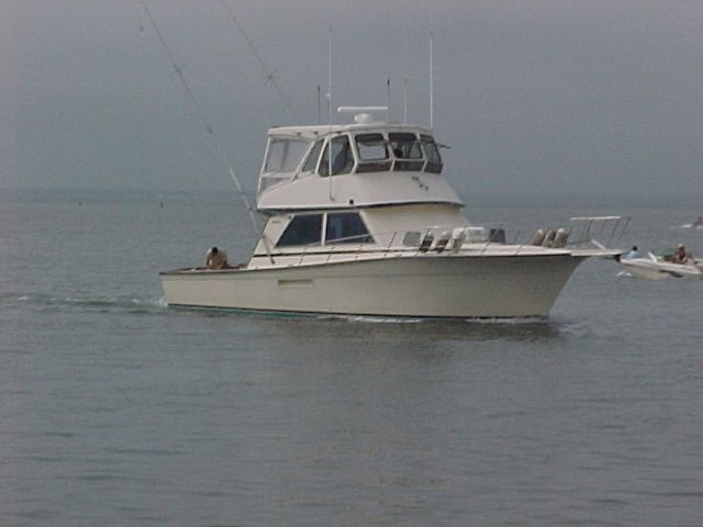 1986 henriques enclosed flybridge power boat for sale for Lbi fishing charters