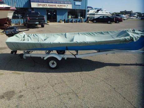 1954 Lyman 1954 Wood Fishing Boat