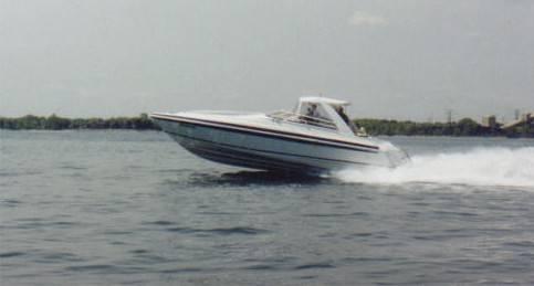 36 ft 1993 intrepid 36x
