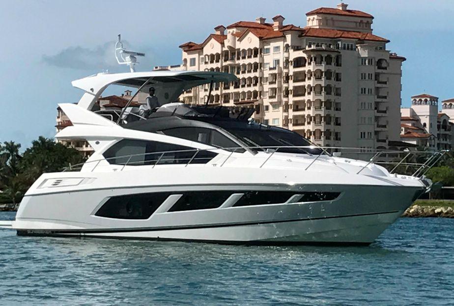 2017 Sunseeker Manhattan 65 Power Boat For Sale - www yachtworld com