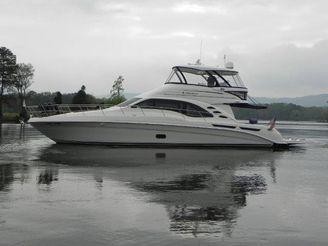 2008 Sea Ray 58 Sedan Bridge