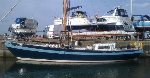 2006 Laurent Giles 54' Steel Gaff Rigged Cutter