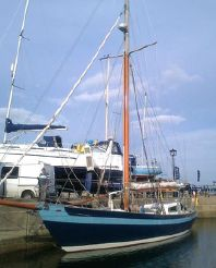 thumbnail photo 2: 2006 Laurent Giles 54' Steel Gaff Rigged Cutter