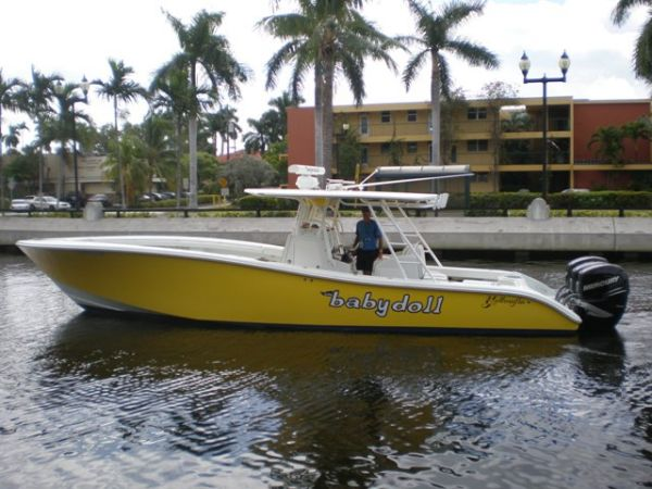 Used 36' Yellowfin Boat for sale