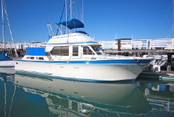 1986 Pt Performance Trawler trawler-style cockpit motoryacht