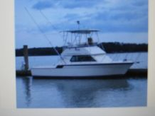 1984 Hatteras 32 Flybridge Fisherman