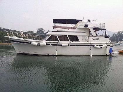 1989 Motor Cruiser 43