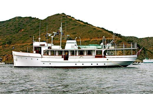 1946 J.m. Martinac Shipbuilders Classic Fantail Motor Yacht