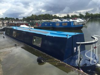 1993 Fox Narrow Boats 41' Traditional Stern