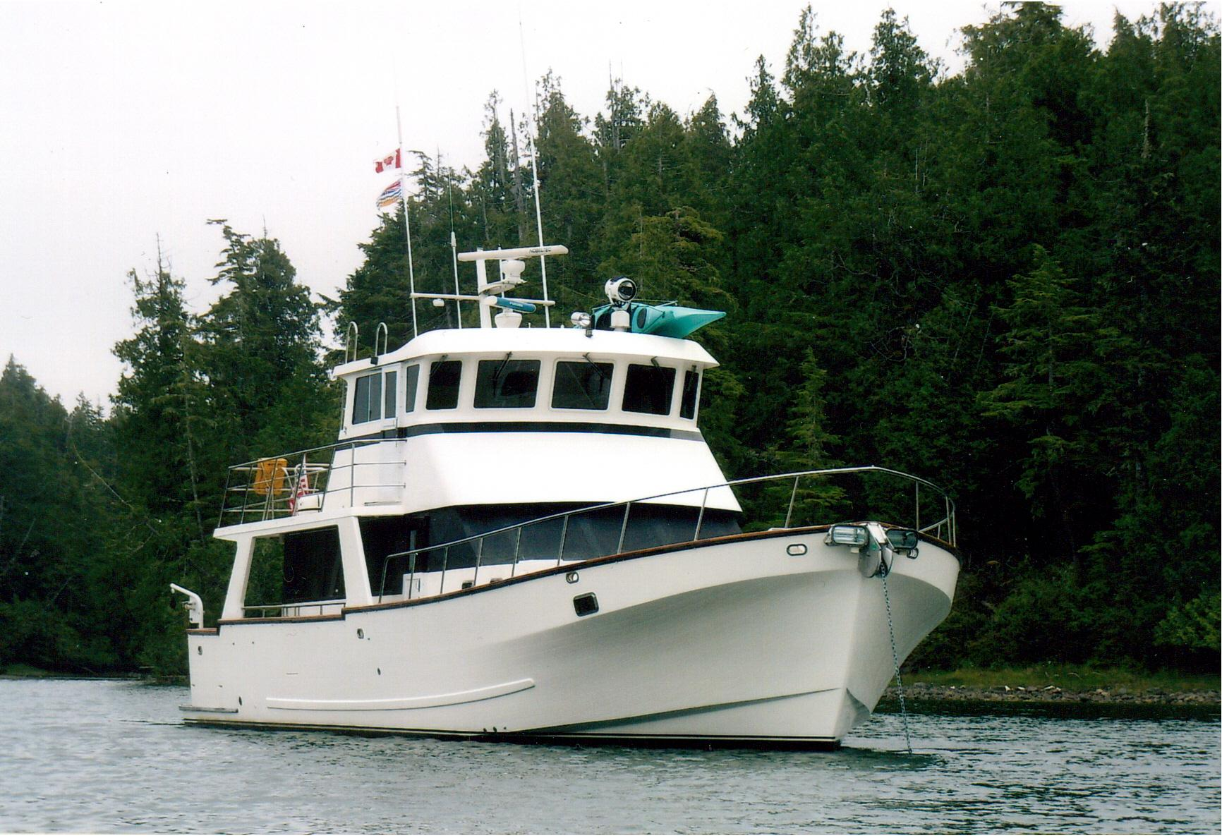 Hoquiam (WA) United States  city pictures gallery : 1994 Little Hoquiam Raised Pilothouse Power Boat For Sale www ...