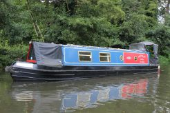 2001 Narrowboat 40' G & J Reeves Cruiser Stern