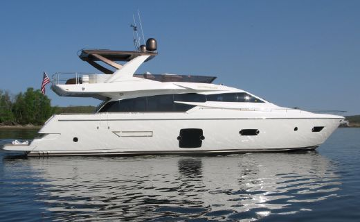 2014 Ferretti 750 Hard Top