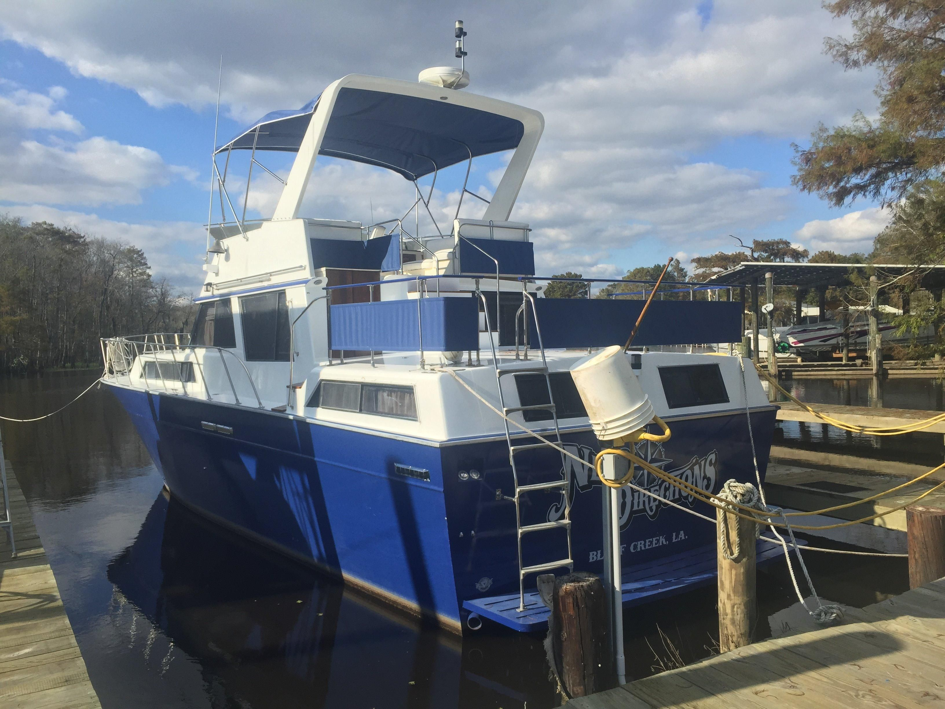 1988 marinette motor yacht power new and used boats for sale for The motor company marinette