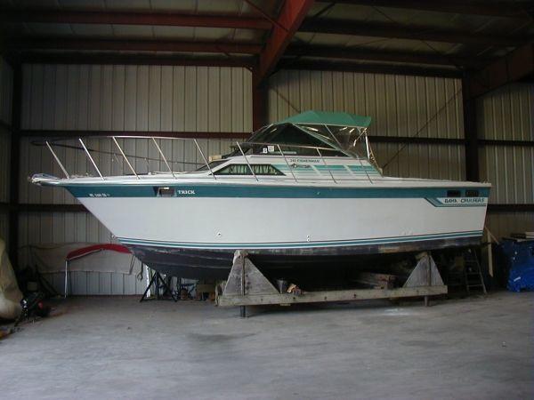 1989 Baha Cruisers Sport Fisherman Motor Boot Zum Verkauf