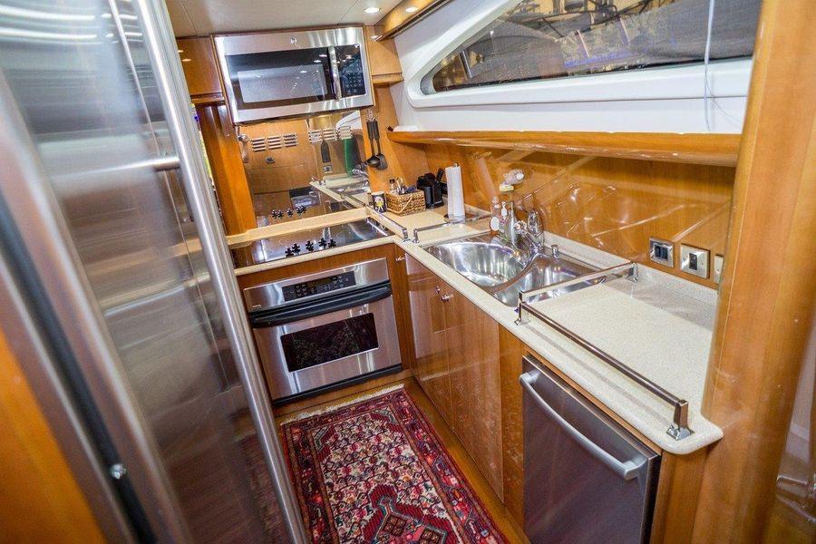 Viking Sport Cruisers 84 Galley Kitchen