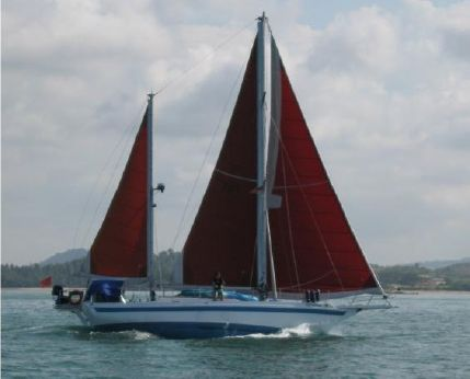 1990 Haji Abdullah 43ft Classic Solid Wood Ketch