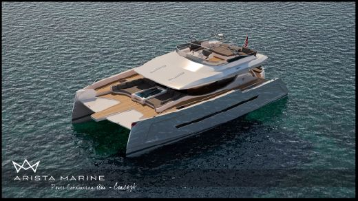 2013 Arista Marine 18m concept power catamaran
