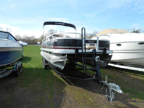 2013 Sun Tracker Fishin Barge 24 DLX