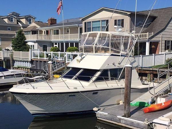 1983 hatteras 36 sport fisherman power boat for sale www for Ocean city nj fishing charters