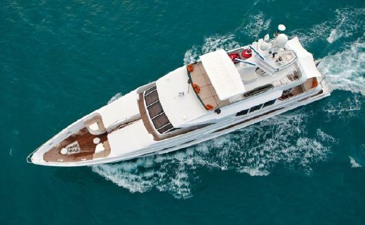 2002 Intermarine Custom Tri-Deck
