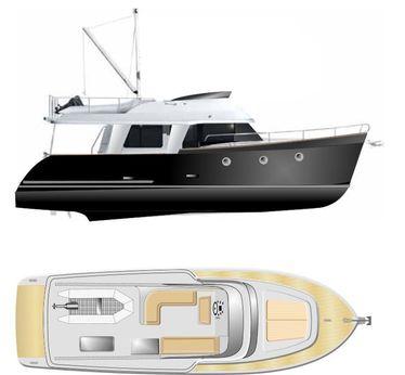 2016 Erman Yachting 44ft TRAWLER YACHT