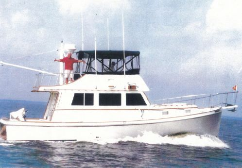 1984 Jarvis Newman Flybridge Cruiser