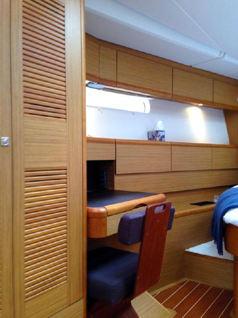 Jeanneau 57 Yacht Master Cabin Desk