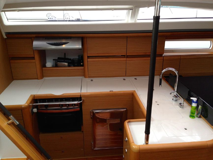 Jeanneau 57 Yacht Galley