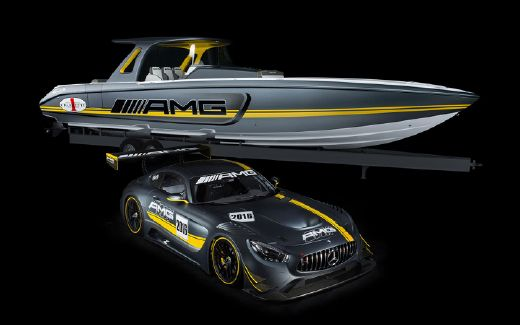 2016 Cigarette Racing AMG 41 GTS
