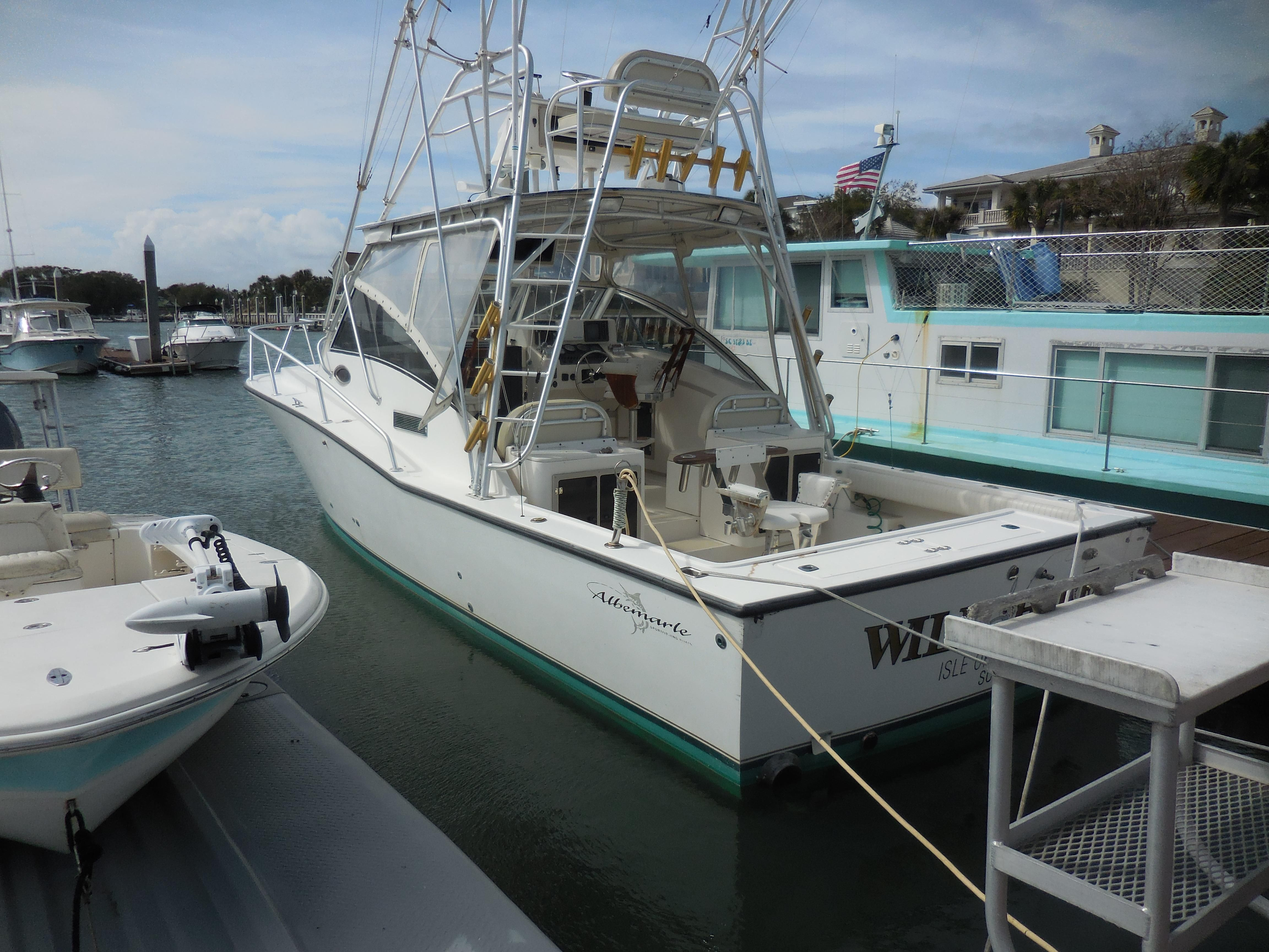 1998 albemarle 320 express fisherman power boat for sale for Isle of palms fishing