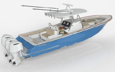 thumbnail photo 2: 2020 Valhalla Boatworks V-37 Center Console