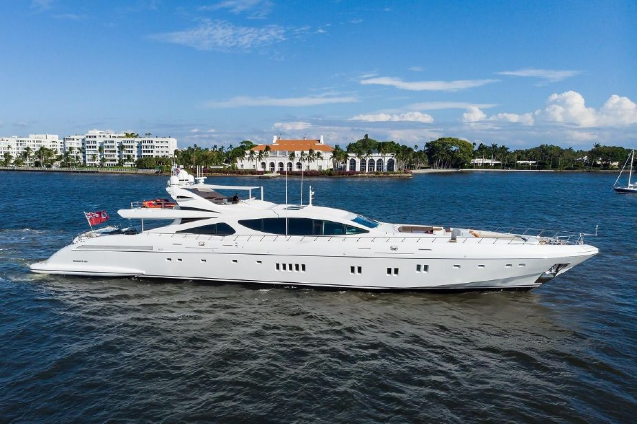 2012 Mangusta 165 Motor Yacht Power Boat For Sale Www Yachtworld Com