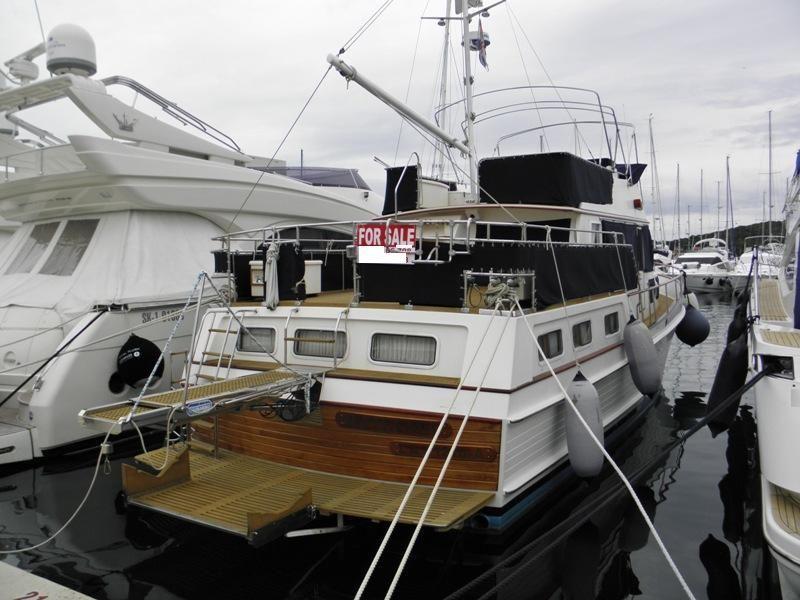 1995 grand banks 46 motoryacht power boat for sale www. Black Bedroom Furniture Sets. Home Design Ideas