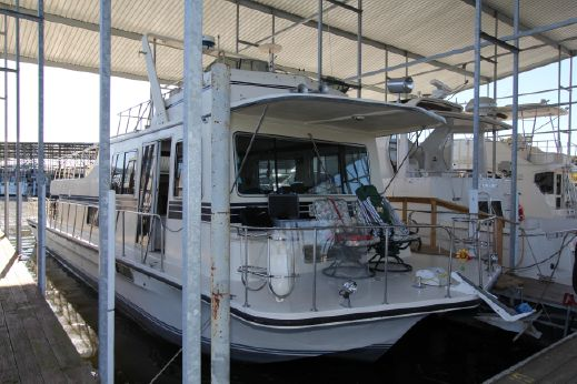 1989 Harbor Master 520 Houseboat (dsl) Walk Around